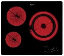 Placa vitrocerámica Whirlpool AKT807BF