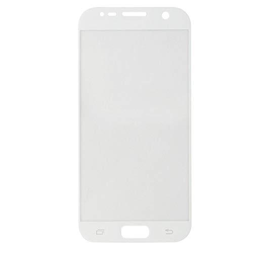 MUNDDY Protector de Pantalla Completa para Samsung Galaxy S7 de Dureza de 9H Full Cover Samsung Galaxy S7 Cristal Vidrio Templado Premium de Cobertura Completa con Bordes Redondeados. … (Blanco)