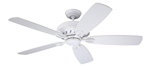 Emerson Lighting CF5200SW Penbrooke Select Eco Ceiling Fan, Satin White, Blades Sold Separately