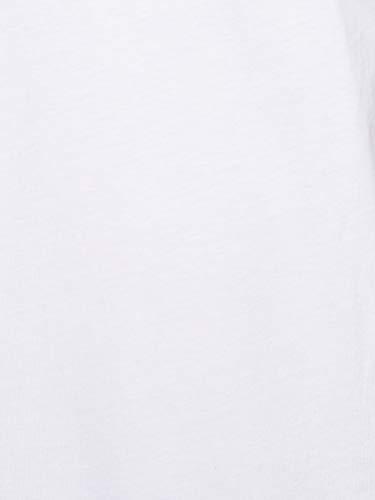 The North Face T92TX5 Camiseta De Manga Corta Simple Dome, Hombre, Blanco (TNF White), L