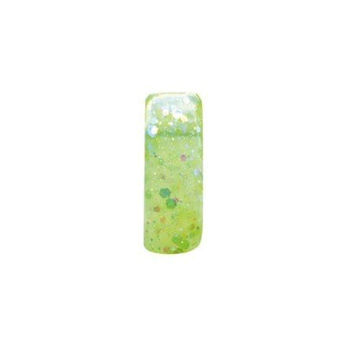 賛美歌対葉を集めるミス ミラージュ ソークオフジェル G16S Lオーロラライムグリーン 2.5g
