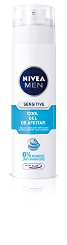 Nivea Men Sensitive Cool Gel Afeitar sin Alcohol