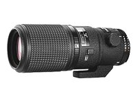 powerful Nikon AF FX Micro-NIKKOR 200mm 1: 4D IF-ED autofocus with fixed zoom for Nikon DSLR cameras