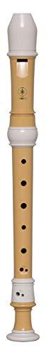 Yamaha YRS-402B - Registratore soprano, in plastica Ecodear, chiave di C