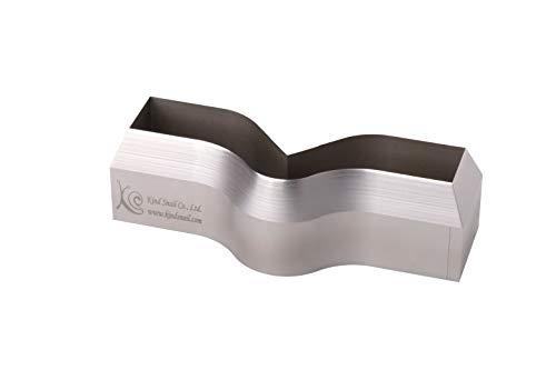 Cortador de forma angular para normas ASTM/ISO/JIS para pruebas de muestras de caucho utilizando la máquina de prueba de tracción (AS-ISO 34-FBM)