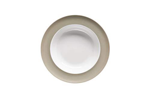Thomas Rosenthal Sunny Day Suppenteller - Pastateller Greige - Beige - Grau Ø 23 cm