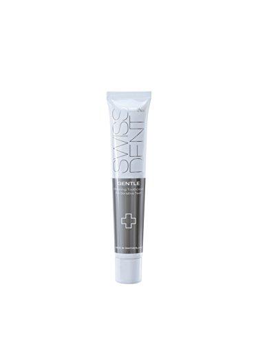 Swissdent Gentle Whitening tandcrème 50 ml, natuurlijk witte tanden, tandbleekmiddel voor gevoelige tanden