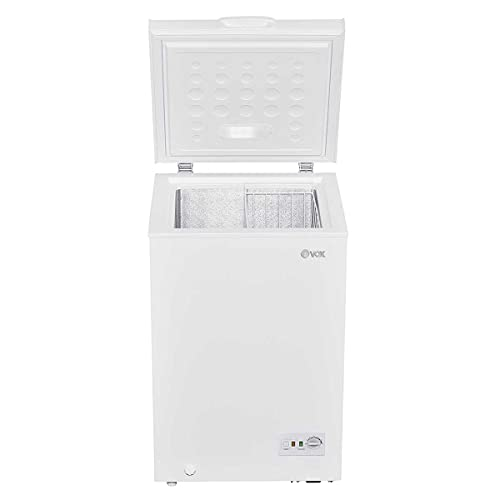 VOX CONGELADOR HORIZONTAL BE1-100RL (100 litros, silencioso, asa incorporada, color Blanco)