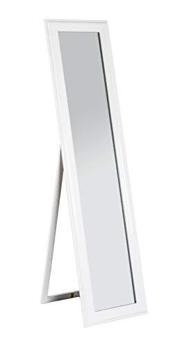 HAKU Möbel Standspiegel, MDF, weiß, 49 x 40 x 156 cm