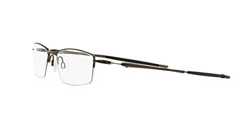 Oakley Men's Ox5113 Lizard Titanium Rectangular Prescription Eyeglass Frames