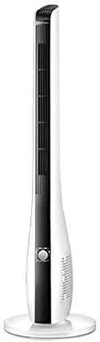 Ventilador de refrigeración de ahorro de energía en el hogar Los aficionados -Pedestal oscilación de la torre de refrigeración silencioso ventilador con mando a distancia y 7,5 horas de temporización