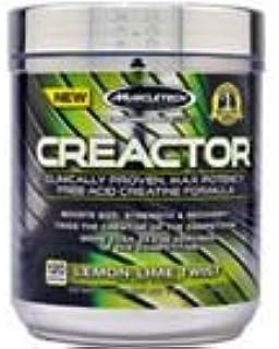 MuscleTech Creactor 120 Servings Lemon-Lime Twist [並行輸入品]