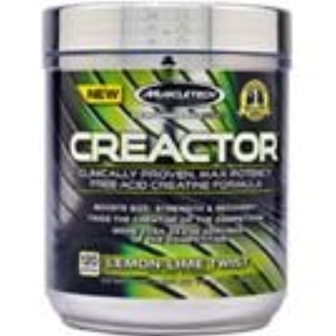懐疑論タクト不正直MuscleTech Creactor 120 Servings Lemon-Lime Twist [並行輸入品]