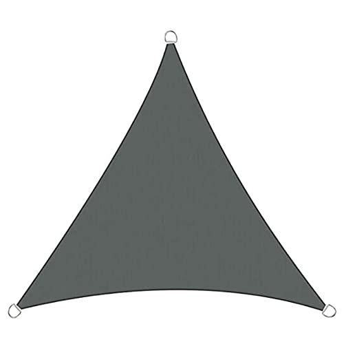 GYAM Toldo Triangular Impermeable, 4.5M X 4.5M X 4.5M Ángulo Recto para Jardín, 3 Cuerdas, Toldo para Patio con Protección Solar para Bañera De Hidromasaje