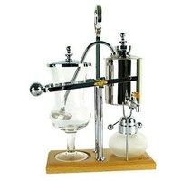 Royal Belgian Balancing Siphon Coffee Maker Silver Chrome