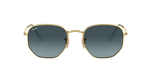 Ray-Ban Unisex RB3548N Sonnenbrille, GOLD, 48