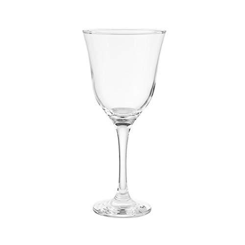 BUTLERS Apéro 6er Set Weingläser 370 ml - Transparentes Stielglas-Set für 6 Personen - Weißweingläser, spülmaschinenfest