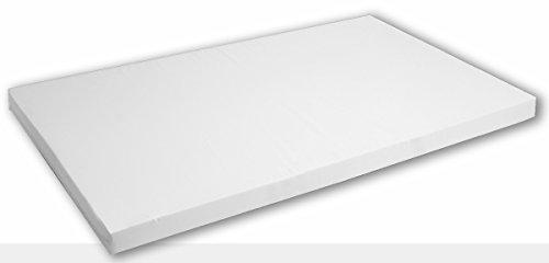 Best For You–Comfort Easy Colchón muchos tamaños a elegir de 60x 120x 14cm a 200x 200x 14cm de espuma TÜV, ideal para camas de invitados y como Cuna colchón con cremallera y TÜV–Puntas Precio/Potencia