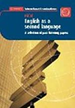 English as a Second Language: IGCSE Past Paper Audio Cassette (Cambridge International Examinations)