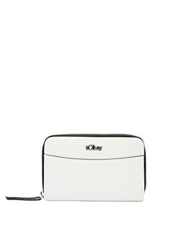 s.Oliver (Bags Damen 201.10.003.30.282.2037518 Portemonnaie, 0210 White, one size