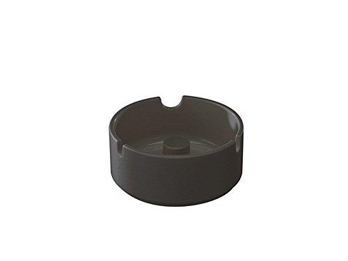 WACA® 9804-790 Aschenbecher Kunststoffaschenbecher glutfest schwarz