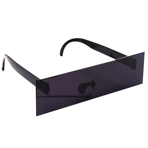Gafas con gafas de sol IT Gafas de sol negras pixeladas