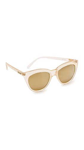 Le Specs Mujeres gafas de sol de Media Luna mágica única Talla Rosa