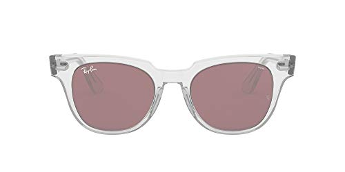 Ray-Ban 912/Z0 Gafas de sol, Trasparent, 49 Unisex
