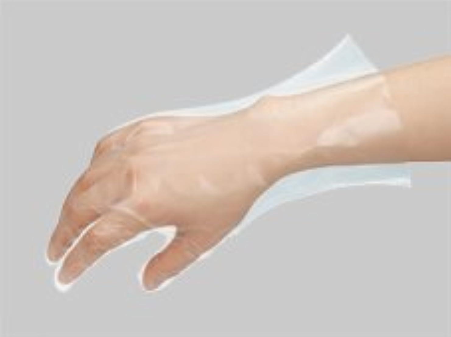 裸レキシコン処理ポリエチ手袋No823 M 100枚入