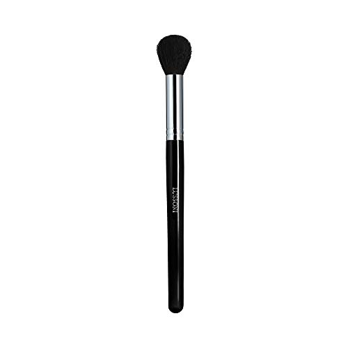 T4B LUSSONI 300 Series Pinceaux Maquillage Professionnel Pour Bronzeurs, Enlumineurs, Fards A Joues, Blush, Poudres Et Contouring, En Forme Ronde Et Coudée (PRO 330 Pinceau à fard à joues rond petit)