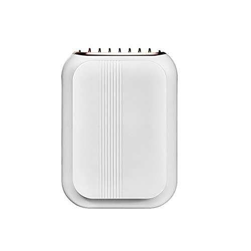KKmoon Ventilador de Cuello,Ventilador Recargable USB de 3 Velocidades, Silencioso y Duradero para Oficina, Hogar, Viajes al Aire Libre(Blanco)