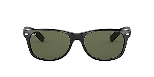 Ray-Ban Unisex-Adultos RB2132 55 Gafas de sol 901L Tortoise , 55mm