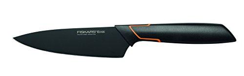 Fiskars Cuchillo Deba, Diseño moderno, Longitud total: 24 cm, Acero de calidad/Plástico, Edge, 1003096