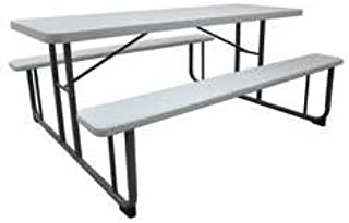 Astounding Amazon Com Industrial Grade 1Mdu4 Picnic Table Industrial Interior Design Ideas Clesiryabchikinfo