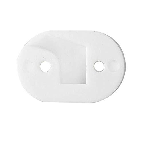Yhtumn Fenders - Junta de Refuerzo para Faros Traseros de Xiaomi Mijia M365/M187/Pro, Blanco, Style :For taillight