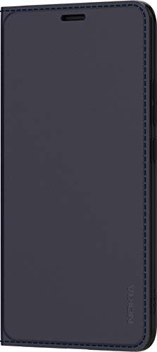 Original Nokia - Premium Leather Book Cover 'CP-290' - passend für 9, dunkelblau