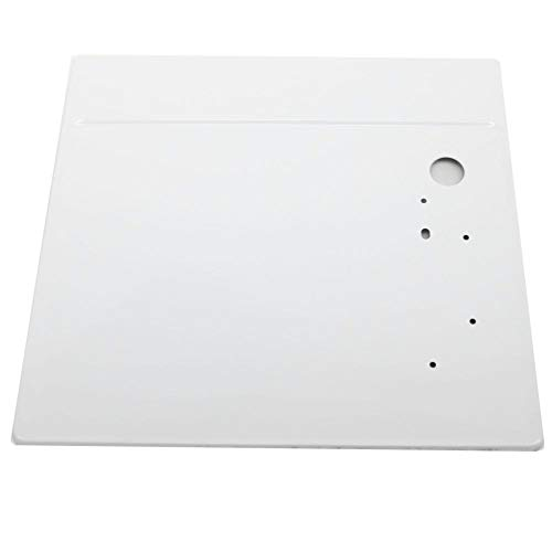 134086852 Commercial Washer Top Panel Genuine Original Equipment Manufacturer (OEM) Part White