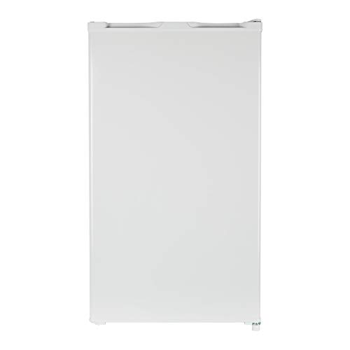 MEDION Kühlschrank mit Eiswürfelfach (93 Liter, 85cm Höhe, Glasablage, Gemüseschublade, Freistehend, Eiswürfelfach, wechselbarer Türanschlag, MD 37544)