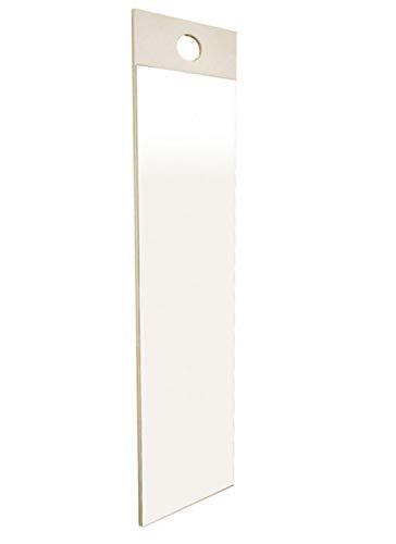 NaturalHouse フック ミラー 鏡 壁掛け 姿見 幅 20 高さ 100 ㎝ 日本製 かがみ 飛散防止 加工 省スペース 玄関 壁 掛け 鏡 姿見 リビング 吊り 鏡 吊り下げ 姿見 スリム つり ミラー ホワイト