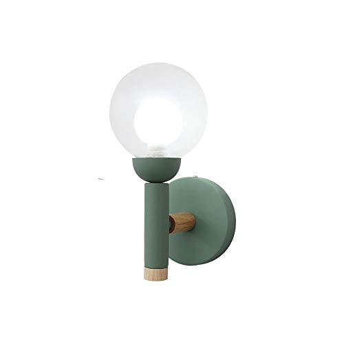 Warme glazen bol, zijlicht, binnen, slaapkamer, bedlampje, glas, lantaarn, voor internet cafe in Living Room Cafe wanddecoratie lichten sconces