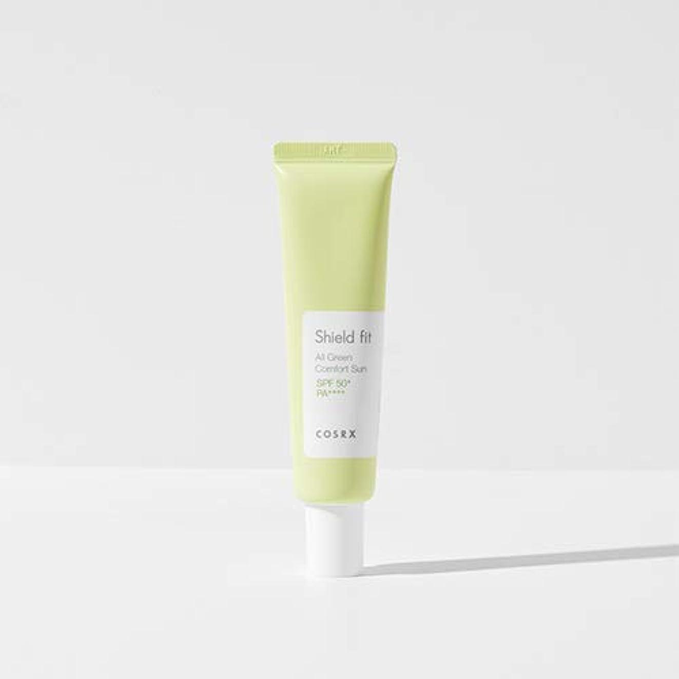 ホイスト雑品不測の事態COSRX シールド フィット オール グリーン コンフォート サン(無機系)/Shield fit All Green Comfort Sun (35ml) [並行輸入品]