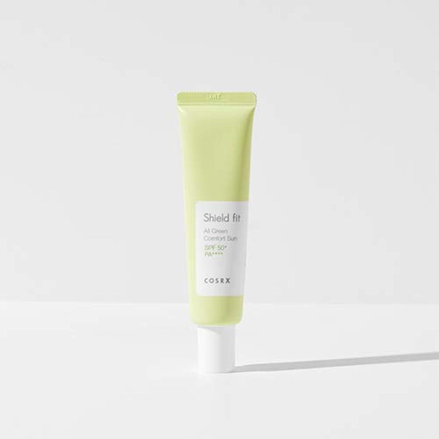 トチの実の木相反するアラームCOSRX シールド フィット オール グリーン コンフォート サン(無機系)/Shield fit All Green Comfort Sun (35ml) [並行輸入品]