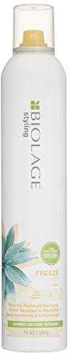 BIOLAGE Styling Freeze Fix Hair Spray | Anti-Humidity Hairspray Lifts & Locks Hair All Day | Paraben-Free |Firm Hold | For All Hair Types |10 oz.