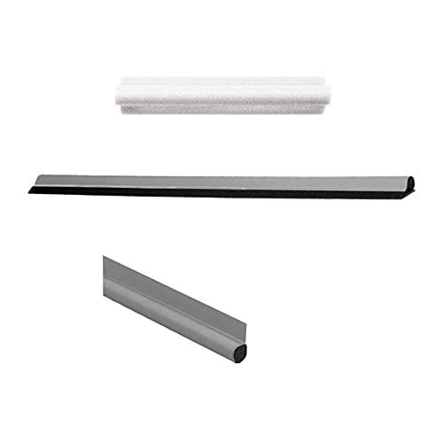 SGYANZLG 1 stück 90 cm Einzelseite Reinigungstür Fenster Dichtungsstreifen 1pc Türfenster braune Innen- oder Außentüren und Windows-Protektor (Color : GY, Length : 90cm)