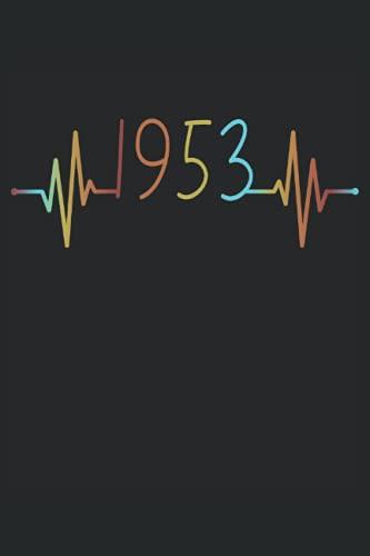Herzschlag Geburtstag Geboren 1953 Jahr Jahrgang Heartbeat Frequenz: RÄTSELBUCH - 100x SUDOKU MEDIUM - Lustiges Herzlinie Geburtstags Geschenk, ... Rätsel, Notiz, Buch, Gehirnjogging, Logik