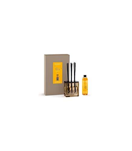 ESTEBAN Vaso diffusore profumo casa AMBRE ambra 250ml in vetro con bacchette