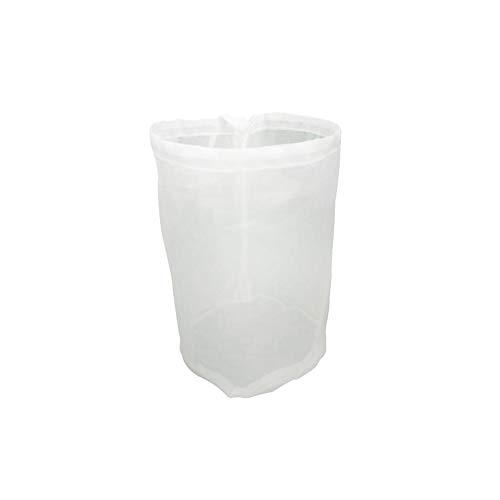 Bier-Filterbeutel, Bierfilter-Mesh 100 Mesh Superfeines Netz Stoff Wiederverwendbar Mit Kordelzug Nylonfilter Für Bierbrauen, Tee, Nussmilch, Gärung