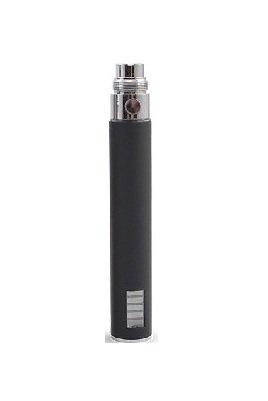 Akku 1100mAh mit LCD Anzeige der neuesten Technik in 3 Größen - 650mAh / 900mAh / 1100mAh für e-Zigaretten - passend für alle EGO - eGo-T / eGo-C / eGo-W und Clear Verdampfer CE4 & CE5 - Farbe Schwarz (1100 mAh, Schwarz)