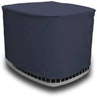 AC Covers Custom Air Conditioner Cover Made for Your Exact Make and Model. Heavy-Duty and Durable with 3-Year Tough-Weather Protection Warranty (Navy Blue)