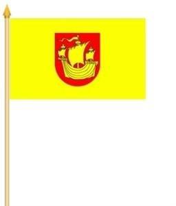 Stockfahne Ostseebad Rerik Fahne Flagge Grösse 30x40cm - FRIP –Versand®